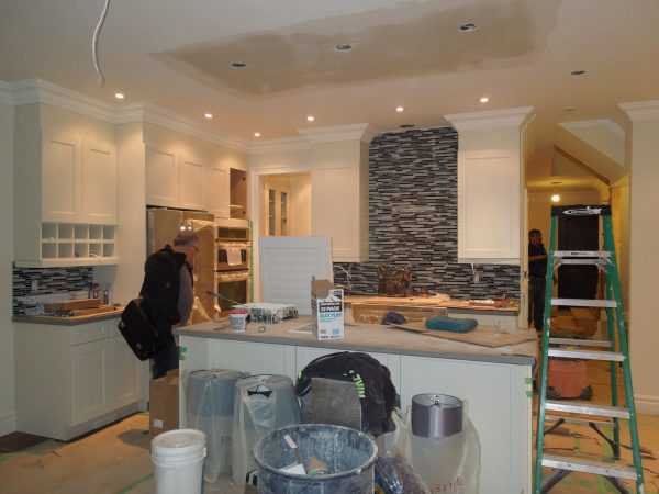 Kitchen renovations