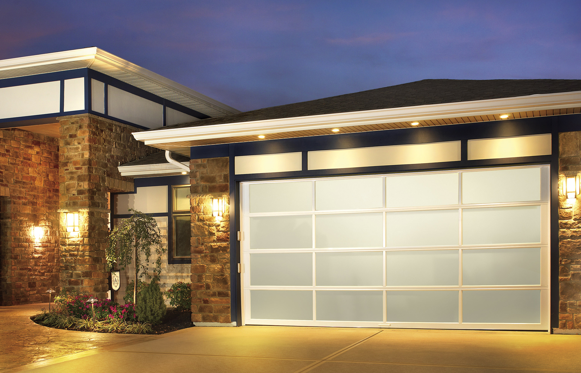 New Contemporary Look Garage Doors Now Available