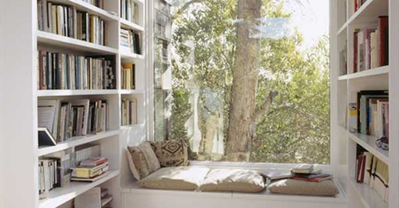 Inspiring Window Reading Nook